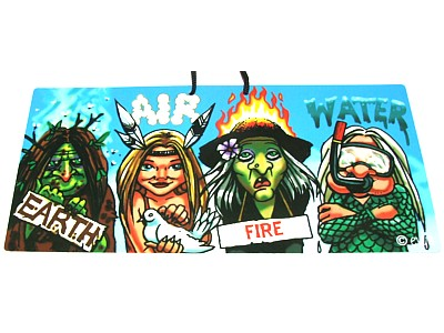 Earth Air Fire Water Elite Sign